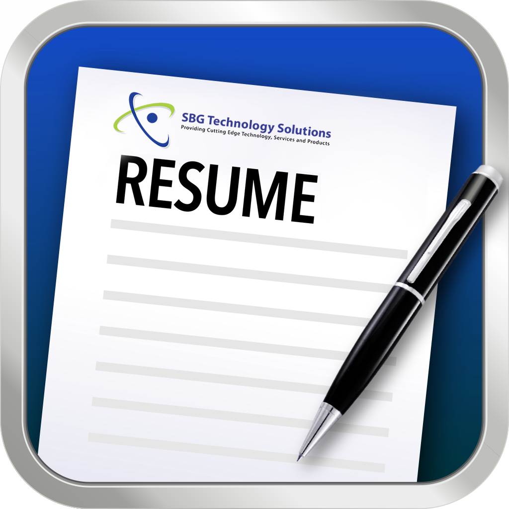 send your resume sbg technology solutions resume